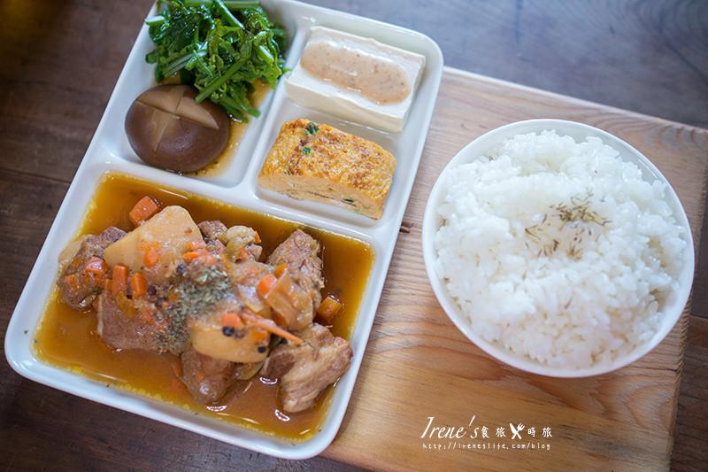 【台中】文青老宅簡餐店,老屋裡的米飯香/手做的溫度.做作米食寓 @Irene's 食旅.時旅