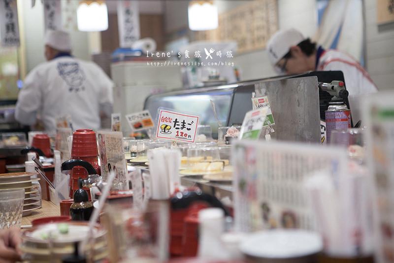 【大阪-美食】日本平價迴轉海鮮壽司店.頑固壽司(がんこ壽司) @Irene's 食旅.時旅