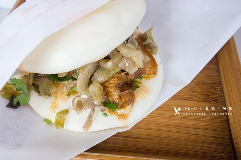 【蘆洲】街食新鮮試,日式薑汁燒肉與中式饅頭的絕妙搭配.一寶。街食 @Irene's 食旅.時旅