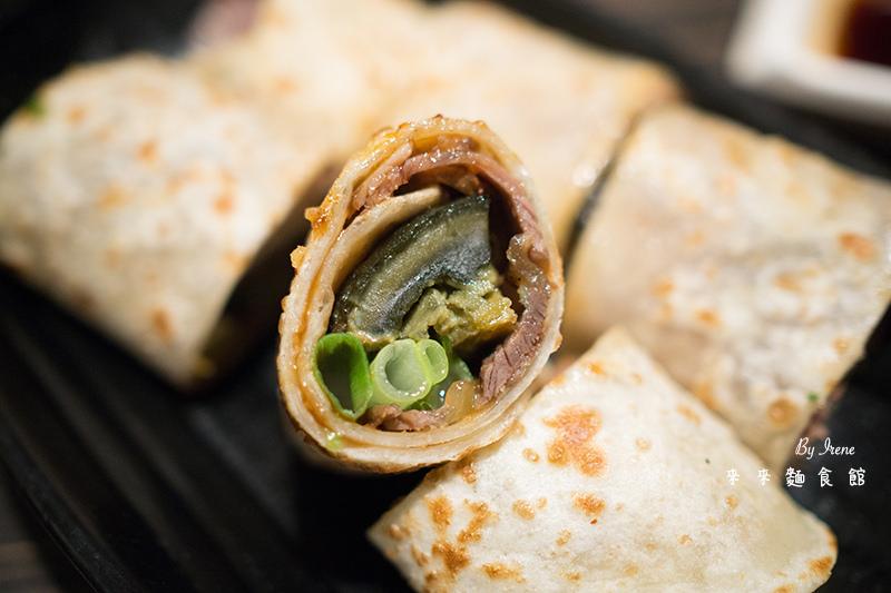 【桃園】全台獨家的黑角牛肉捲/桃園藝文特區美食/平價美食.來來麵食館