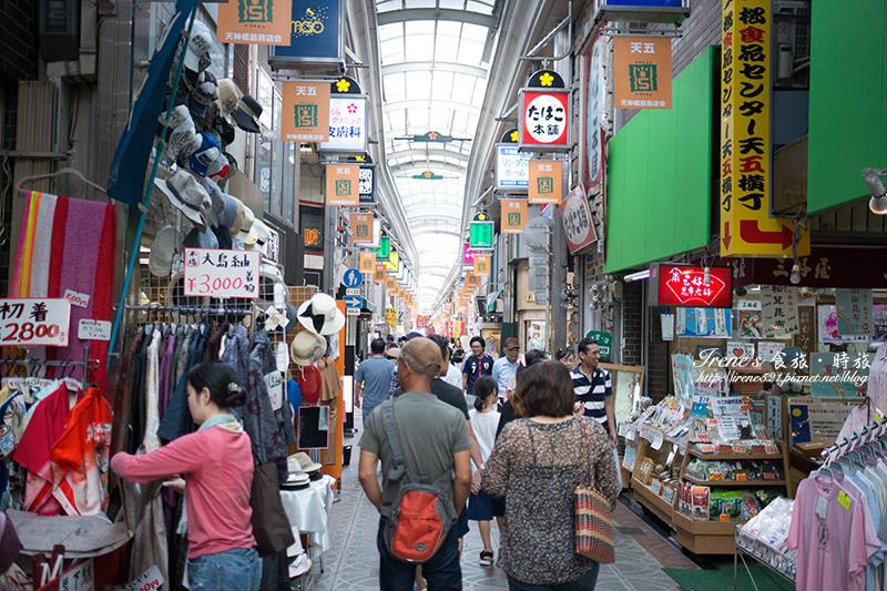 【大阪-景點】日本最長的商店街,從1丁目逛到7丁目,吃喝玩樂一把抓.天神橋筋商店街 @Irene's 食旅.時旅