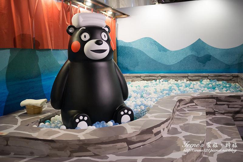 【台北-展覽】跟著Kumamon一起認識熊本縣、遊台灣.Kumamon 熊好來逗陣 @Irene's 食旅.時旅