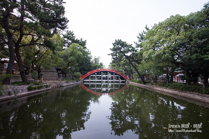 【大阪-景點】祈求生意興隆/互動感十足的神社,靠自己力量尋找五大力石.住吉大社 @Irene's 食旅.時旅