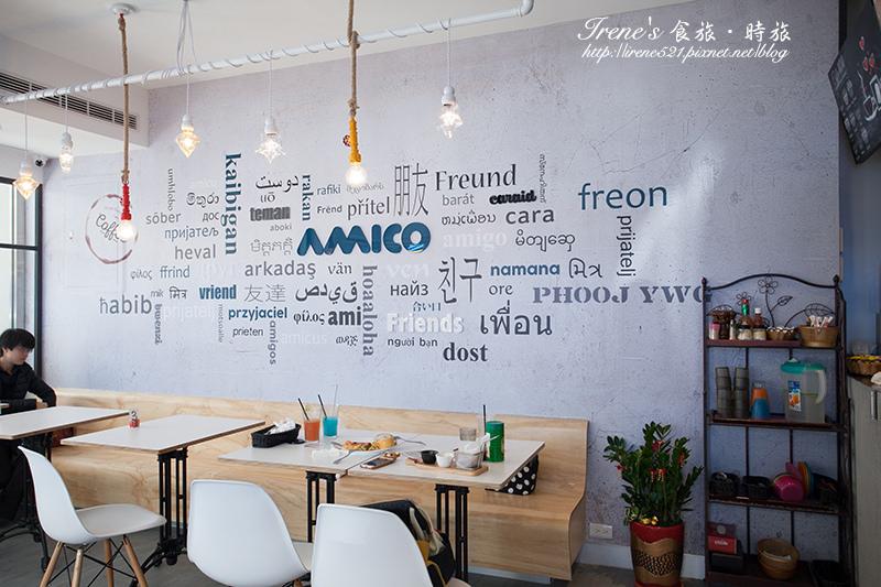【台中】用義大利麵環遊世界/各國特色義大利麵/每日輕食超豐盛/向上路美食.Amico 吖米可複合式咖啡