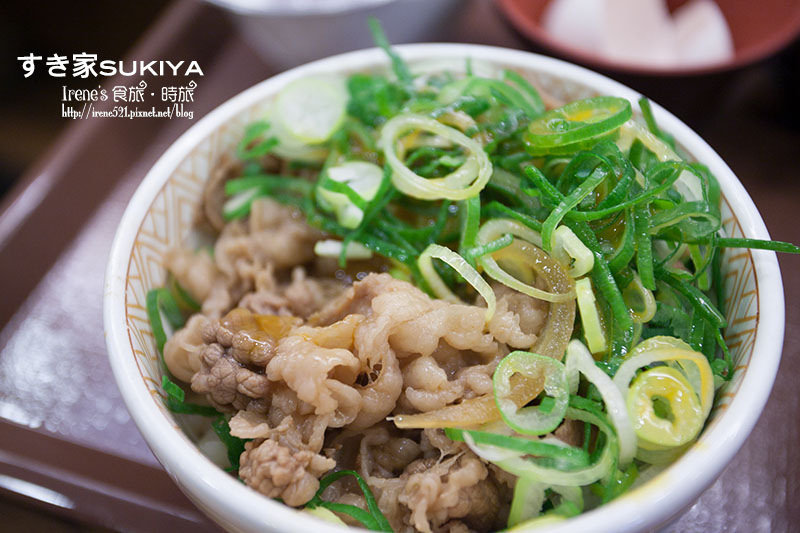 【廣島-美食】24小時隨時想吃的好選擇/早餐、消夜不用愁.すき家sukiya @Irene's 食旅.時旅
