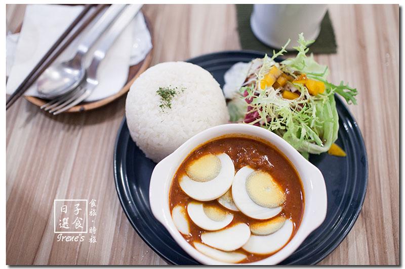 【台北大同區】赤峰街中的日式餐館/日式、咖哩飯、三明治、甜點.日子選食 @Irene's 食旅.時旅