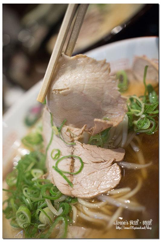 【大阪-美食】天神筋商店街拉麵/濃到化不開的豚骨拉麵/超厚的燒肉.麺匠 丹波篠山らーめん