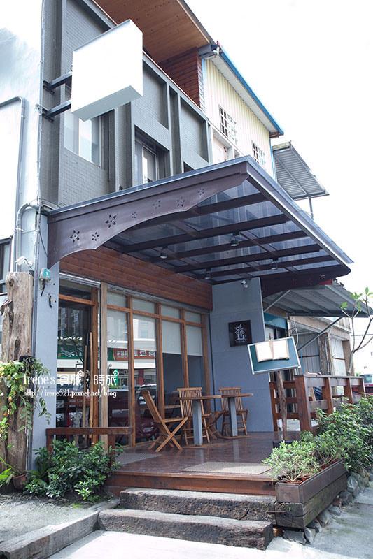 【宜蘭礁溪】日式文青咖啡館中的鮮魚和風定食.里海cafe'