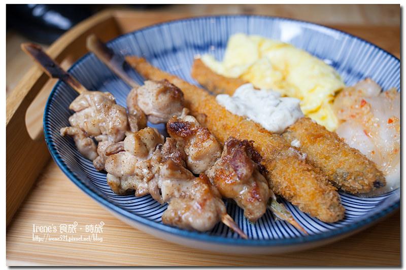 【板橋】來份日式早餐撫平想到日本的心情/早餐就吃串燒/美式復古風好好拍.1925 caf'e @Irene's 食旅.時旅