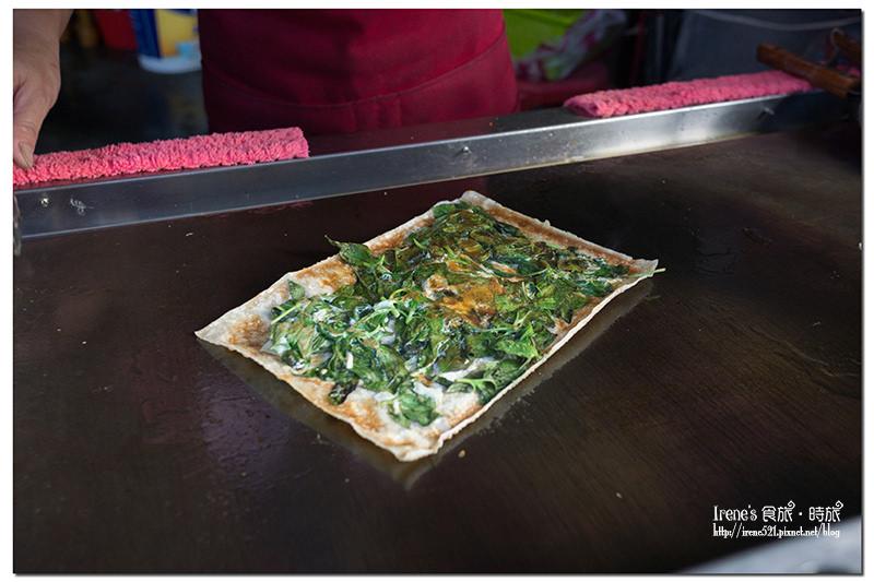 【三重】脆如餅乾的蛋餅/包肉包菜很營養/銅板美食/隱藏美味小吃.脆皮蔬菜蛋餅