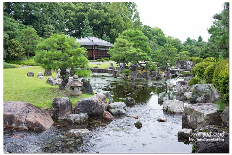 【京都】世界文化遺產二条城內的百年歷史建築/日式茶屋.和樂庵 茶房前田 @Irene's 食旅.時旅