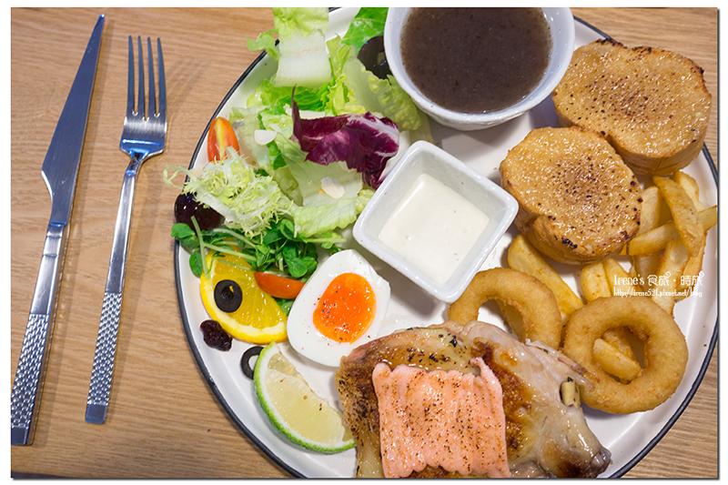 【三重】鄉村風的溫暖調性,早餐也能吃的很優雅.鹿森早午餐(已歇業) @Irene's 食旅.時旅