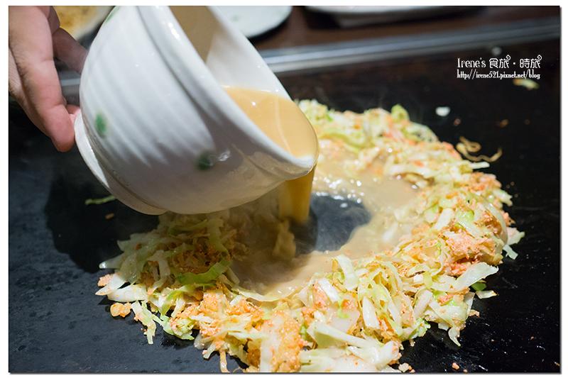 【名古屋-美食】自己動手DIY製作大阪燒&文字燒,好吃又好玩.Rikyu @Irene's 食旅.時旅