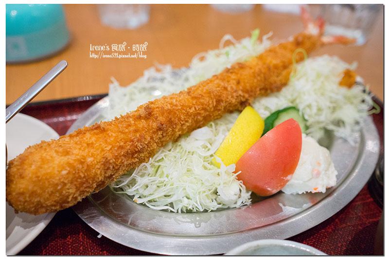 【名古屋-美食】跟手臂一樣長的超長炸蝦!新名古屋名物.海老どて食堂 @Irene's 食旅.時旅