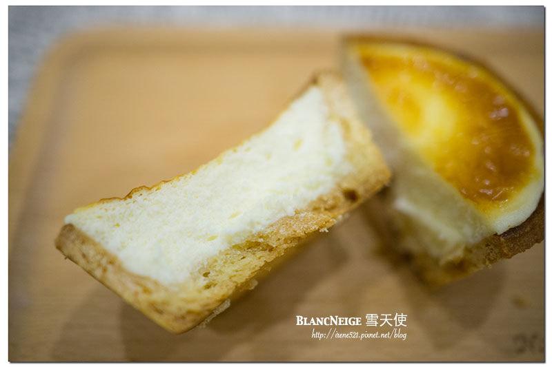 【台北南港】京都百年老店今村芳翠園與雪天使共同推出的抹茶塔.BlancNeige雪天使