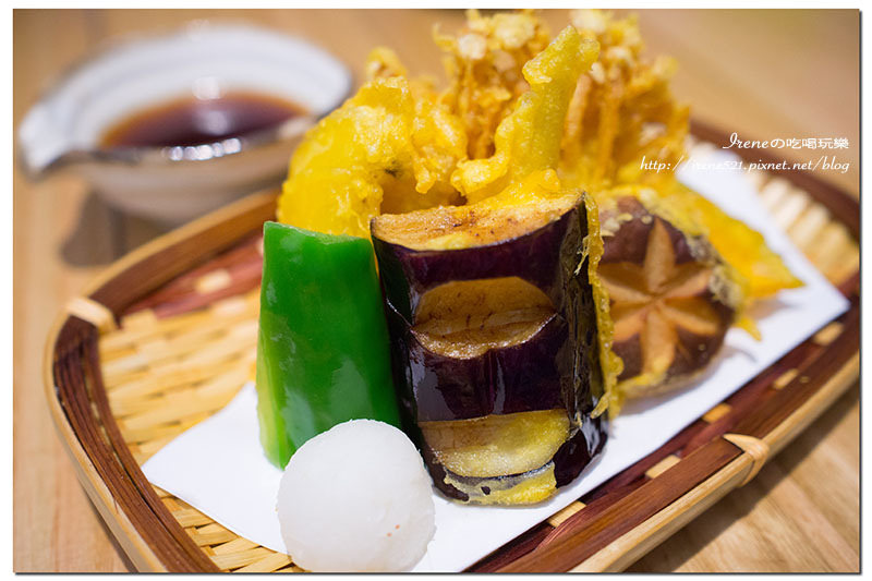 【台北大同區】日式小清新的蔬食料理,表現優異的野菜天婦羅.井町日式蔬食料理 @Irene's 食旅.時旅