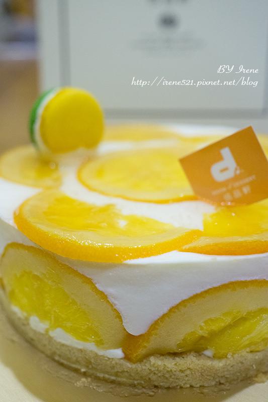 【台北大安區】清爽清新的北海道香橙乳酪.Room 4 Dessert 恬品軒 @Irene's 食旅.時旅