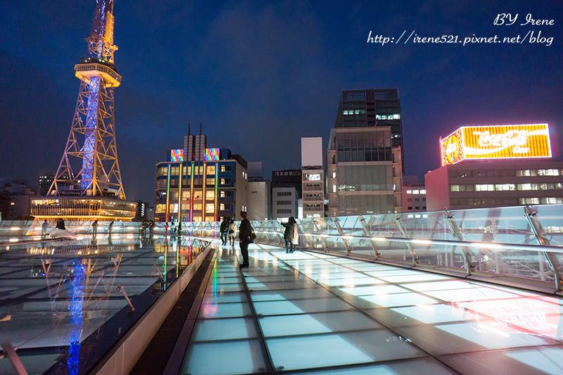 【名古屋】浪漫指數破百,漫步在玻璃地板的宇宙船上欣賞名古屋電視塔.綠洲21(Oasis 21) @Irene's 食旅.時旅