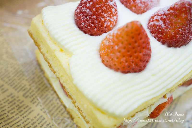 【台北士林區】冬季限定,晚了就吃不到的雙層草莓蛋糕.士林宣原烘焙蛋糕專賣店 @Irene's 食旅.時旅