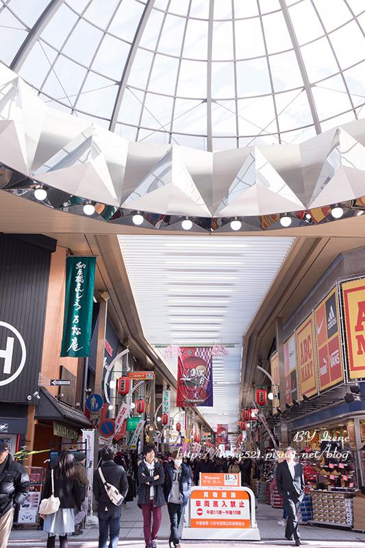 【名古屋】古著X女僕店X雜貨X特產X小吃,集結各式店鋪超好逛的「大須商店街」 @Irene's 食旅.時旅