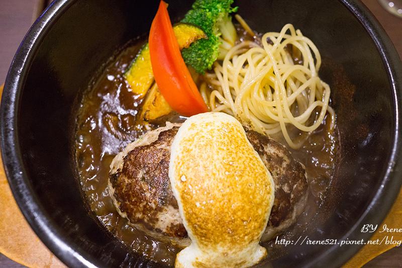 【台北大安區】豐厚肉汁的手工漢堡排.俺の漢堡排山本 @Irene's 食旅.時旅