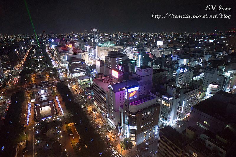 【名古屋】點亮夜空的明亮鐵塔,唯美的戀人聖地.名古屋電視塔 @Irene's 食旅.時旅