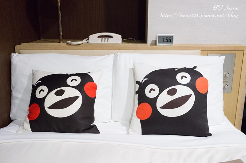 【九州熊本】便宜不貴且逛街超方便的KUMAMON主題房.三井ガーデンホテル熊本 @Irene's 食旅.時旅