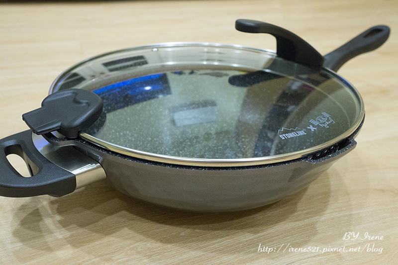 【開箱】一把好鍋讓你置身天堂.德國STONELINE阿爾卑斯山原石經典深炒鍋具組(適用電磁爐)