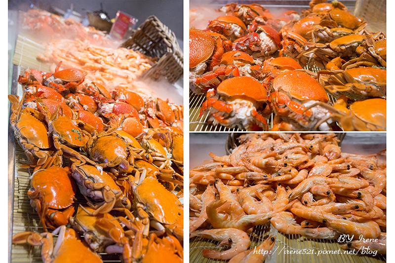 【台北大安區】傳說中的南霸天,愛吃BUFFET的朋友又多一家了.漢來海港餐廳 @Irene's 食旅.時旅