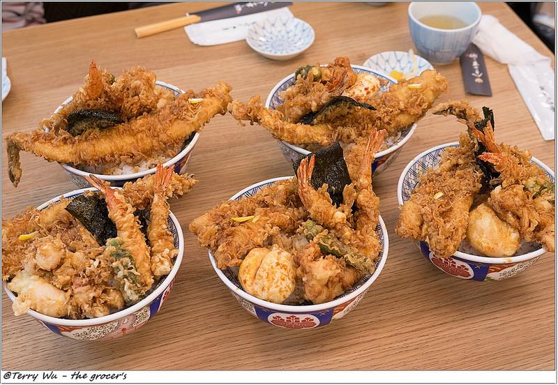 【泰瑞食記】日本人氣天丼專門店 金子半之助 終於有引進台灣了 , 剛開幕人潮很鬼扯也是很正常的無誤!! @Irene's 食旅.時旅