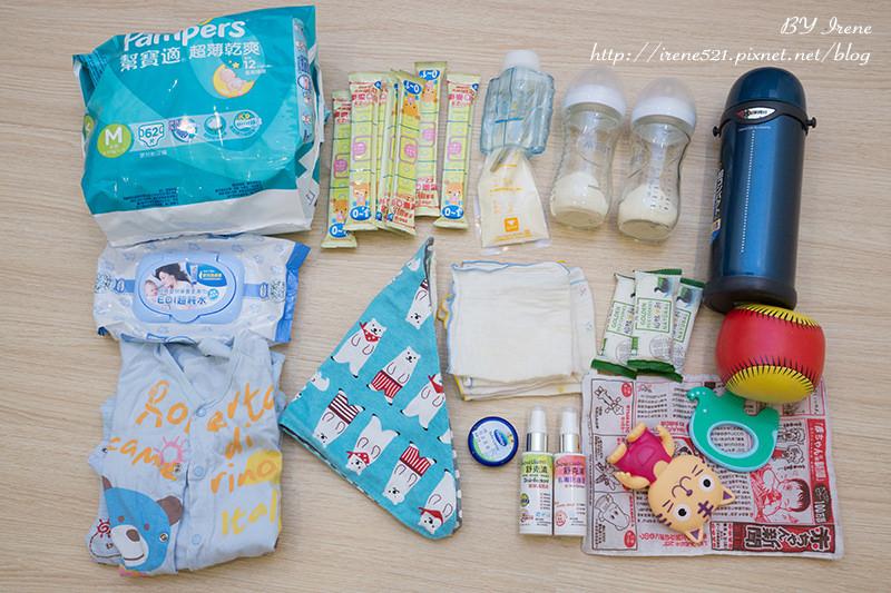 即時熱門文章:【育兒】帶嬰兒出遊,二天一夜小旅行的準備事項