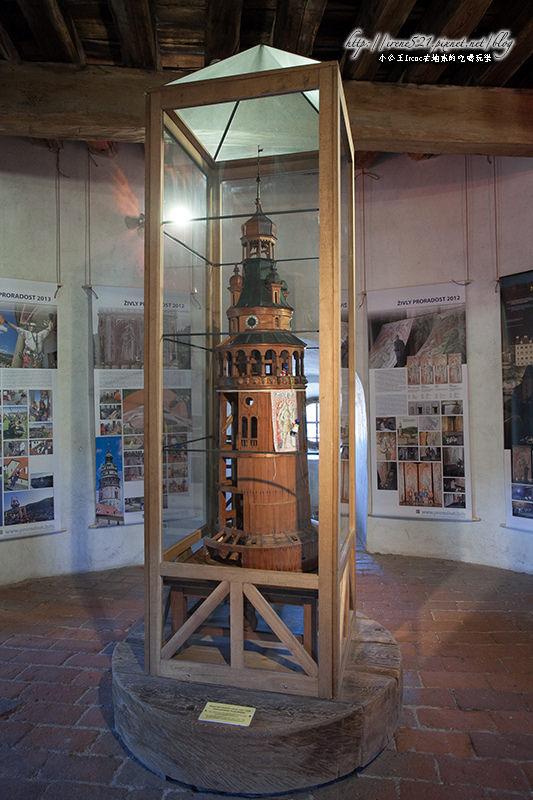 【捷克CK】庫倫洛夫Český Krumlov大地標,無處不見的「彩繪塔」