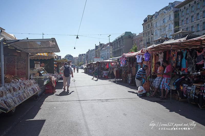 【維也納】維也納最古老的傳統市場.納許市場Naschmarkt
