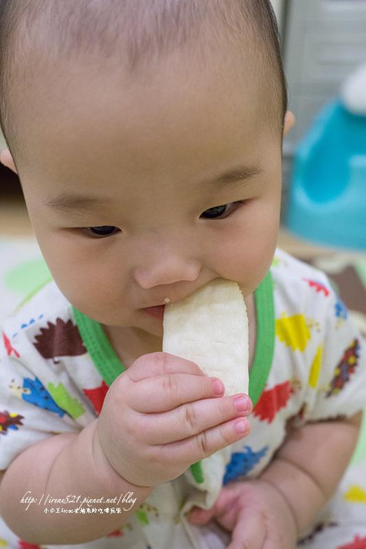 【嬰兒食品】寶寶的第一個零嘴,入口即化的「稻鴨米餅」 @Irene's 食旅.時旅