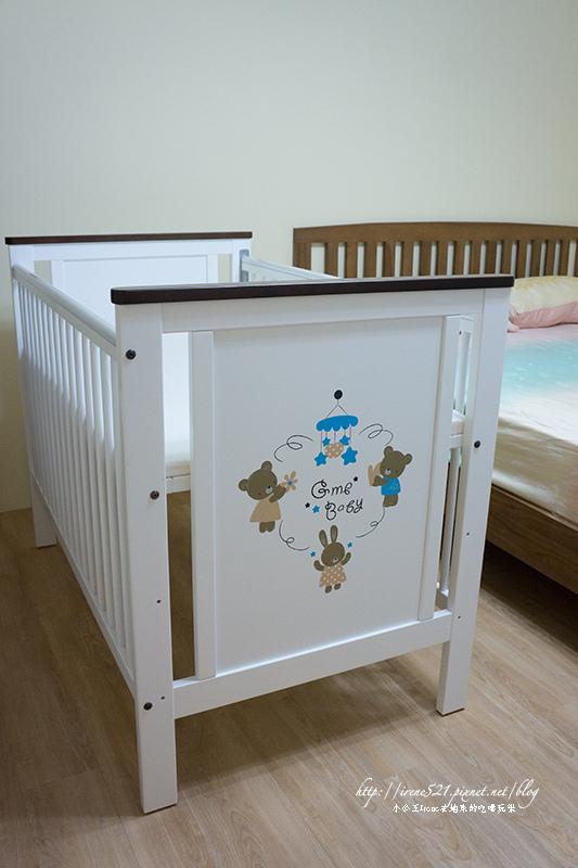 即時熱門文章:【育兒】小小人的窩.東京西川GMP 熊兔樂園嬰兒床