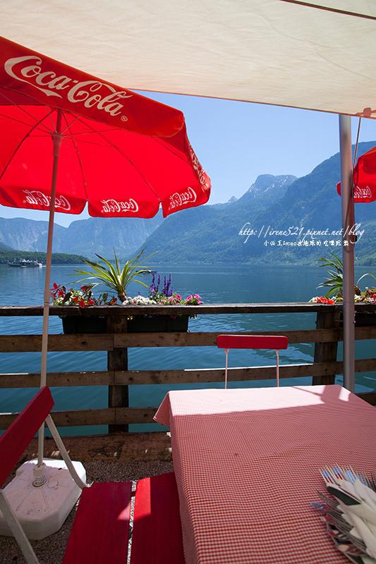 【奧地利.Hallstatt】唯美小鎮的湖畔午餐.Bräugasthof Lobisser @Irene's 食旅.時旅