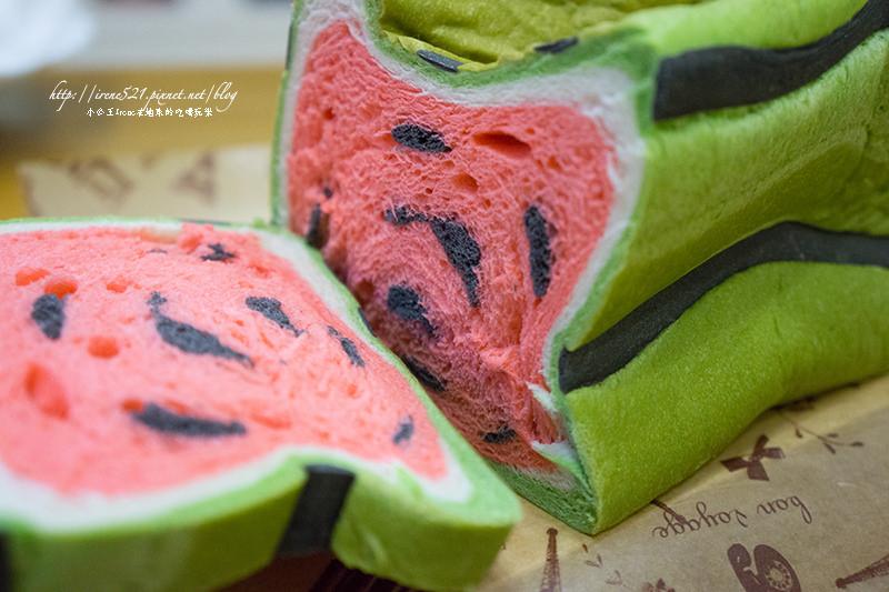 【宜蘭礁溪】把吐司變成了西瓜!幾米烘焙手創坊