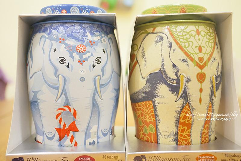 【包裝商品】早餐與下午茶的偽文青.威廉森茶 大象罐禮盒 @Irene's 食旅.時旅