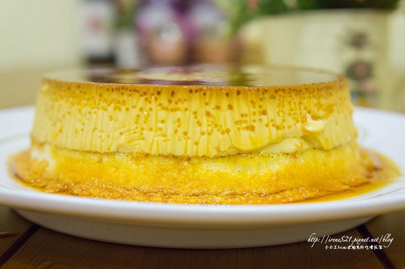 【團購美食】一口雙滿足,布丁、蛋糕一起吃.莎莎羊手作烘焙 @Irene's 食旅.時旅