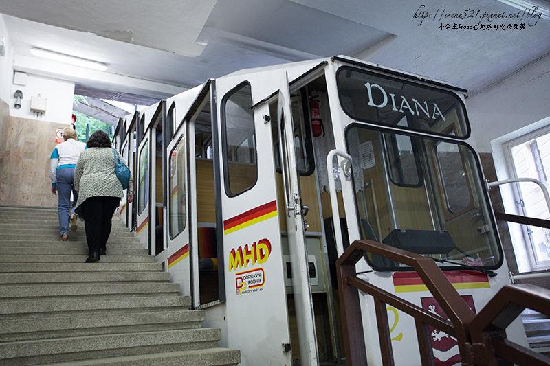 【捷克KV】一登Diana山丘,飽覽卡洛維瓦麗的景致.Diana纜車 @Irene's 食旅.時旅