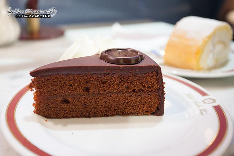 即時熱門文章:【維也納】奧地利經典巧克力蛋糕.Hotel Sacher-薩赫蛋糕