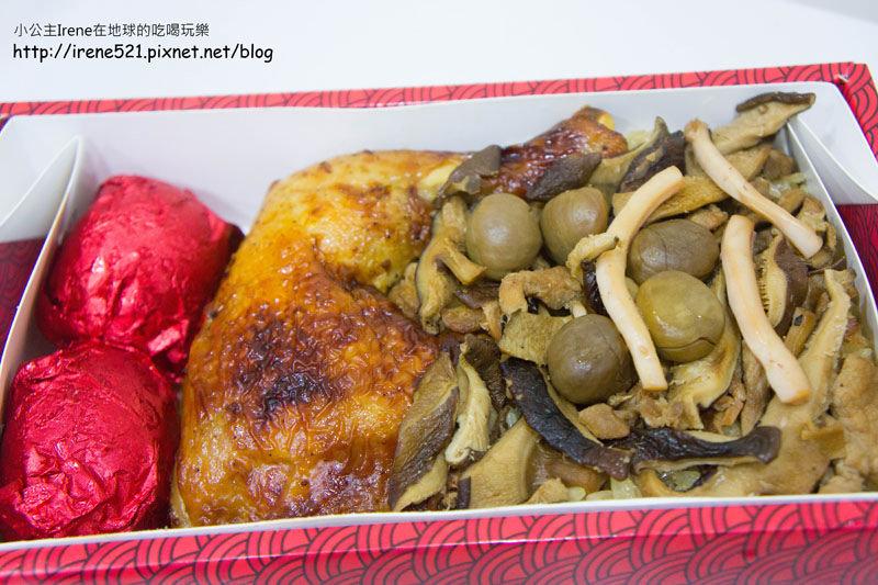 【彌月】油飯也能加入頂級海鮮,魚翅、螃蟹通通有.吉贊油飯 @Irene's 食旅.時旅