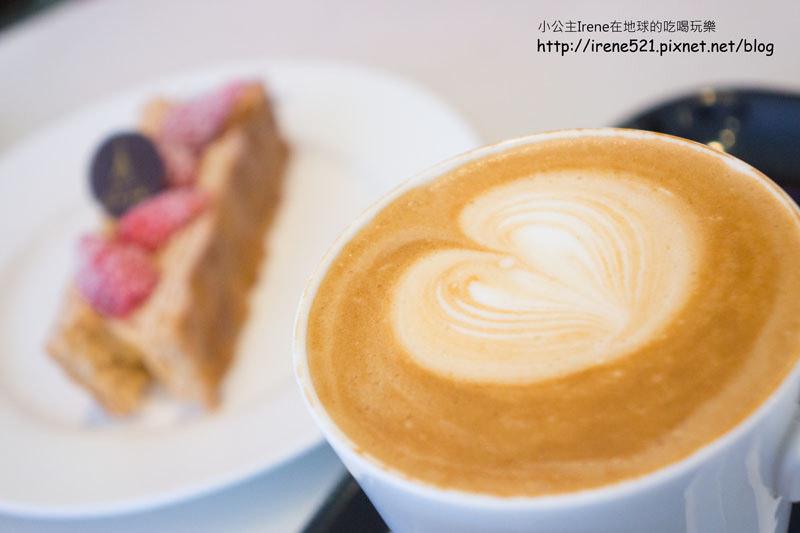【台北中山區】來一場午茶的邂逅.Agnès b. Café(新光南西店) @Irene's 食旅.時旅