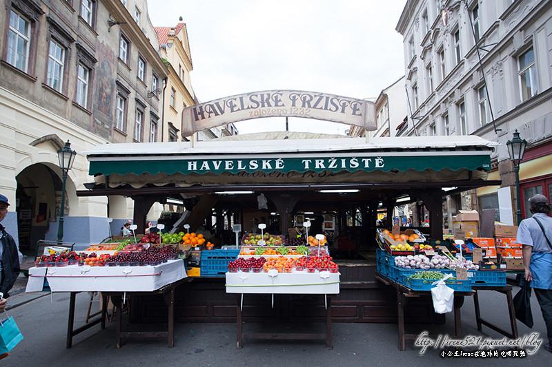 【捷克-布拉格】體驗當地的市集,融入布拉格的生活.哈維爾市集Havelské Tržiště @Irene's 食旅.時旅