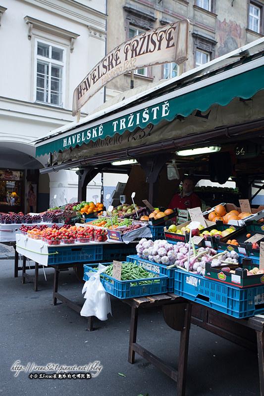 【捷克-布拉格】體驗當地的市集,融入布拉格的生活.哈維爾市集Havelské Tržiště