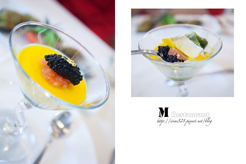 【台北大安區】創意呈現在料理上的義法料理.M restaurant @Irene's 食旅.時旅