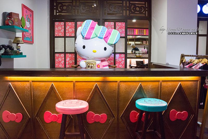 【台北大安區】當台灣復古風格遇上KITTY,成了寶島凱蒂.台灣伴手禮-凱蒂冰菓室 @Irene's 食旅.時旅