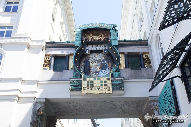 【維也納】歷史上的著名人物一一現身報時囉.安可時鐘Ankeruhr @Irene's 食旅.時旅