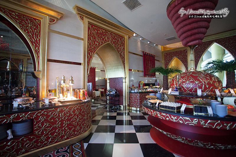 【杜拜】帆船飯店內的奢華用餐,體驗阿拉伯式的料理.Al Iwan阿拉伯餐廳 @Irene's 食旅.時旅