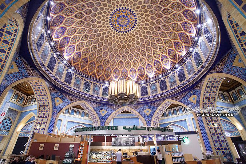 【杜拜】走訪六個千年古城,最美的星巴克.六國商城Ibn Battuta Mall @Irene's 食旅.時旅